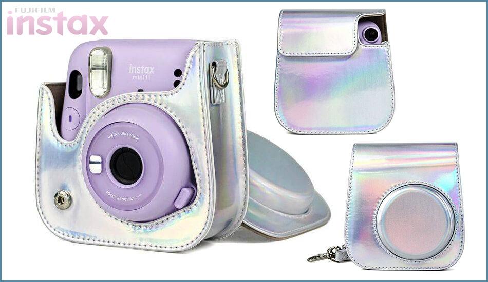 Etui-Futeral-Do-Instax-Mini-11-Fujifilm-Laser-Silver-1