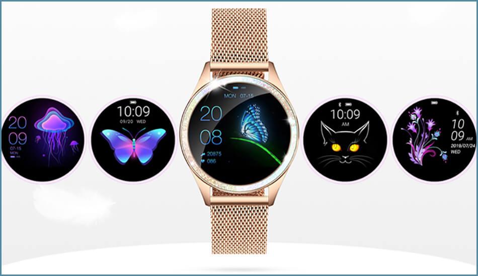 Smartwatch-KingWear-damski-zegarek-KW20-Bialy-3841-2