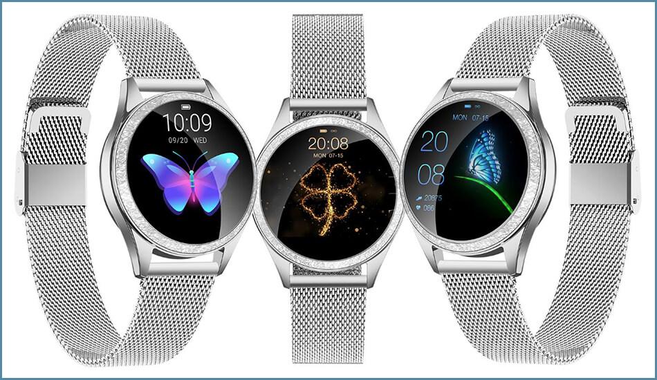 Smartwatch-KingWear-damski-zegarek-KW20-Srebrny-1